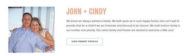 Parent Profiles - John & Cindy