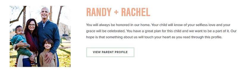 Parent Profile
