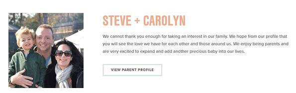 Adoptive Parent Profiles